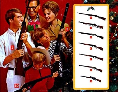 Spend Your Christmas With Guns!
